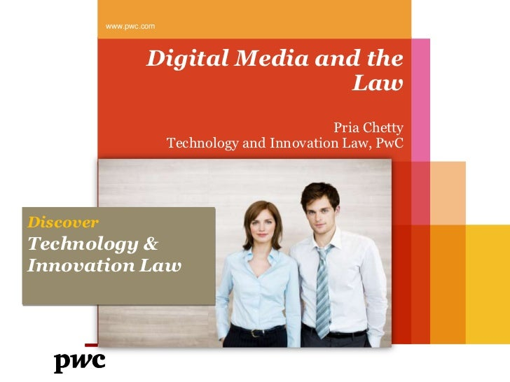 Digital media and the law