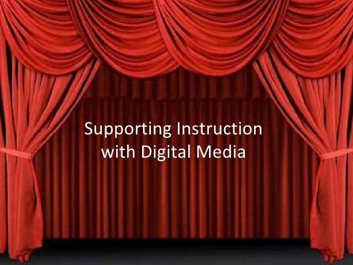 Digital media in the classroom2
