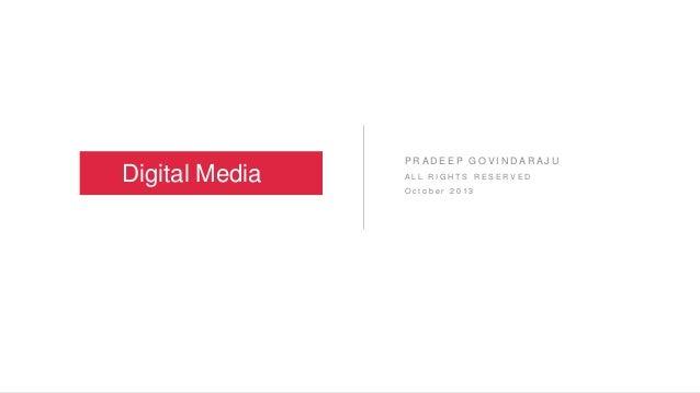 Digital Media Marketing - Fundamentals & Career Opportunities