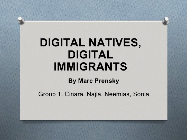 Digital natives digital_immigrants ppoint