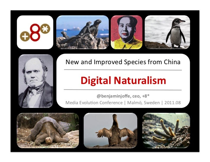 New and Improved Species from China          Digital Naturalism                 @benjaminjoffe, ceo, +8...