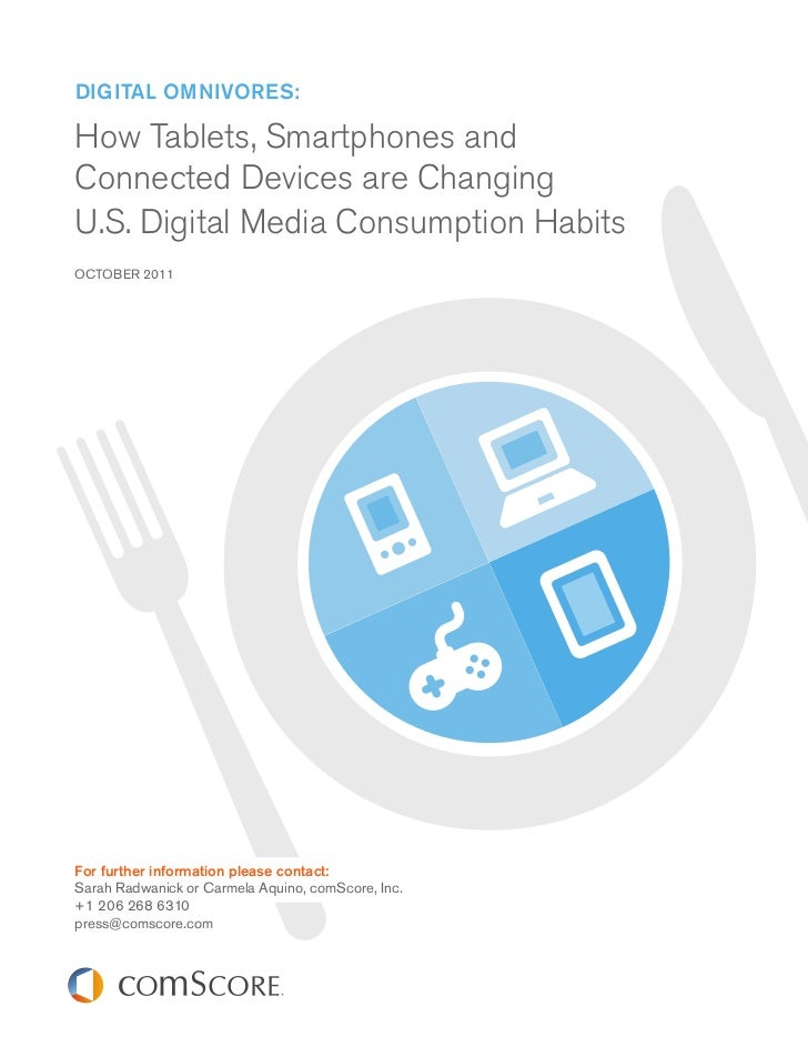 Digital OmnivOres:How Tablets, Smartphones andConnected Devices are ChangingU.S. Digital Media Consumption HabitsOCTOBER 2...