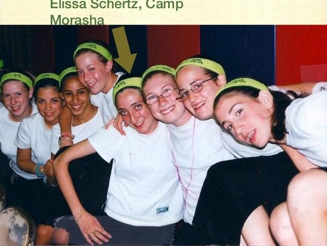 Elissa Schertz, Camp Morasha