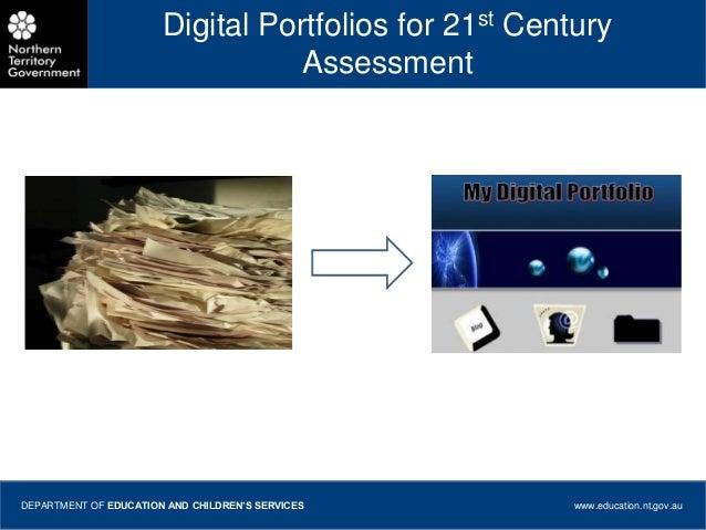 Digital Portfolios PP  for 21 Bytes course