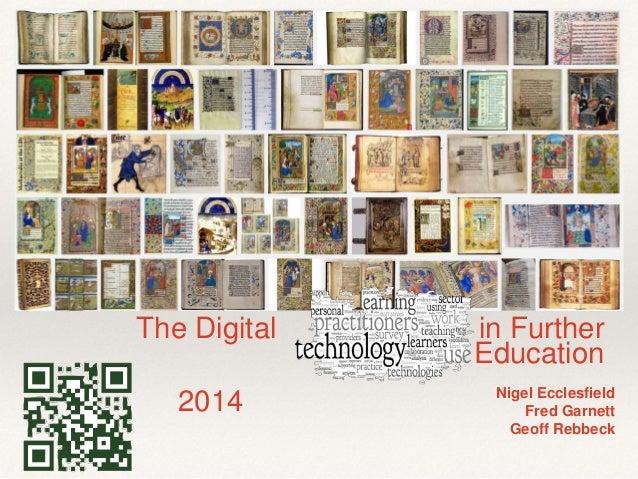 Digital Practitioner Further Education UK 2014