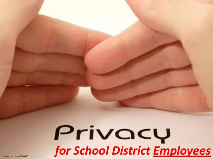 istockphoto.com #1376675                           for School District Employees