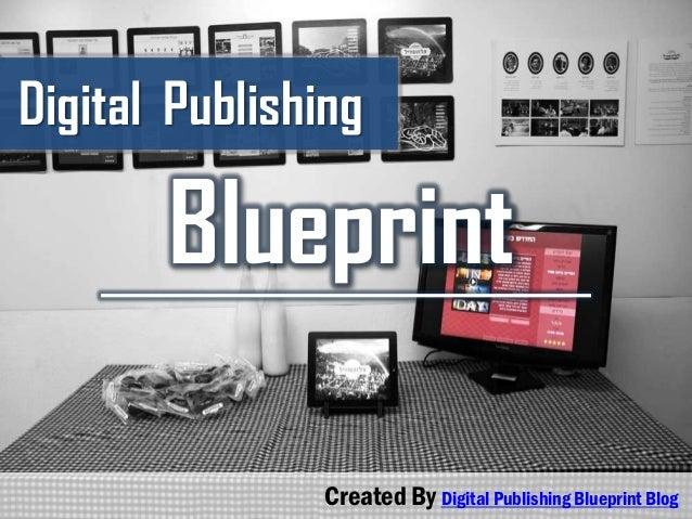 Digital Publishing Blueprint Created By Digital Publishing Blueprint Blog
