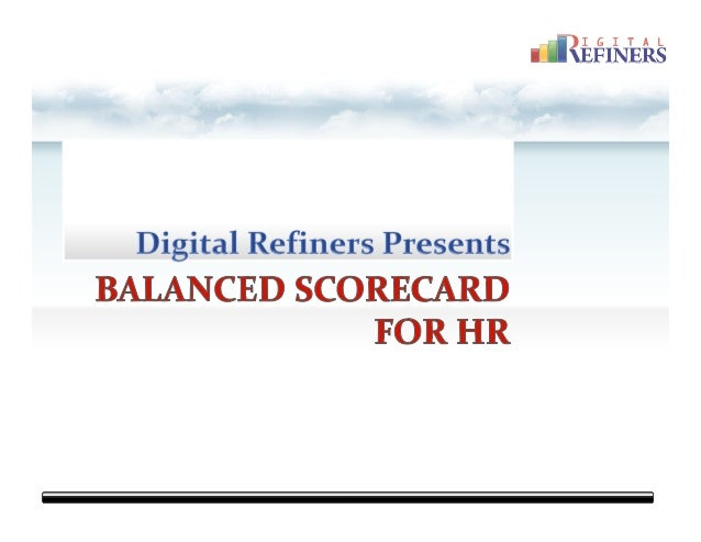 Digital Refiners HR Strategy Map