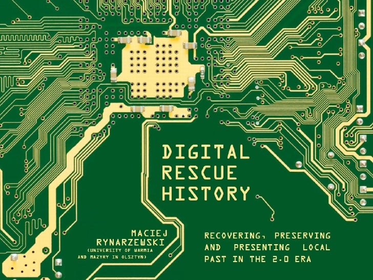 Digital Rescue History