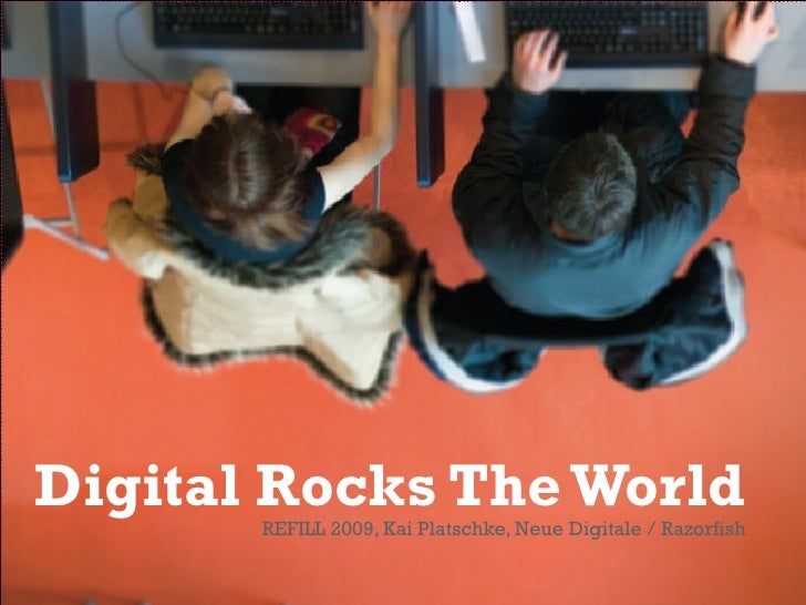 Digital Rocks The World
