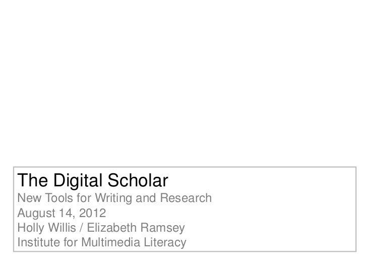 Digital scholar 2