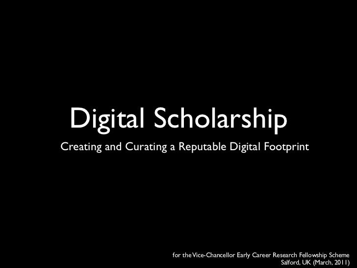 Digital Scholarship