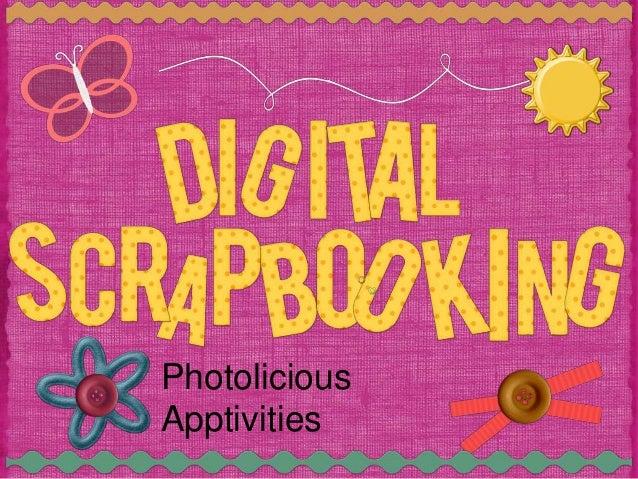 Digital Scrapbooking in the Classroom