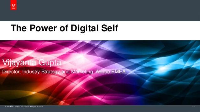 The Power of Digital Self