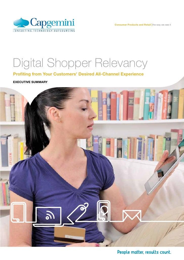 Digital shopper relevancy__Executive_Summary_