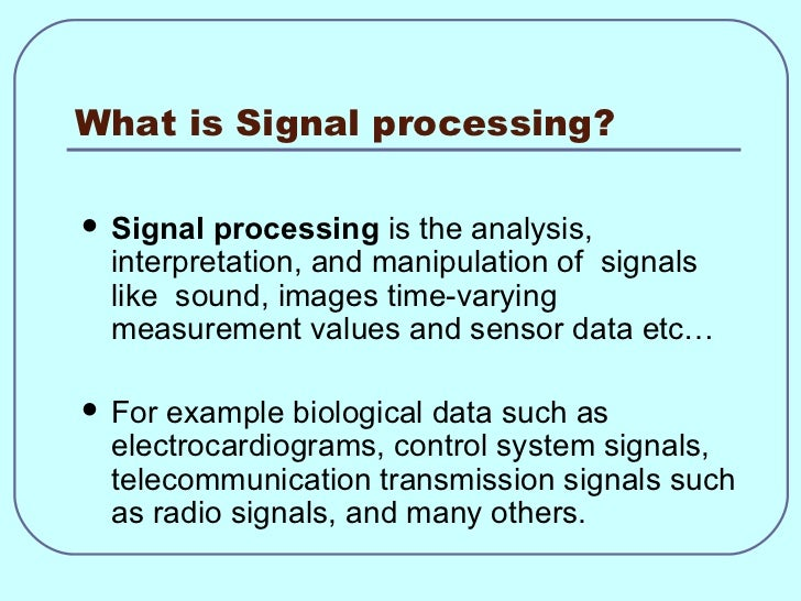statement of purpose for masters in signal processing The department also offers two tracks of the master of science in electrical   communications and signal processing computer engineering (including.