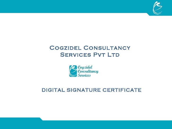 digital signature and digital certificate pdf
