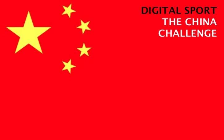 Digital sport china challenges 5.11