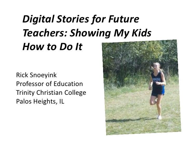 Digital story project