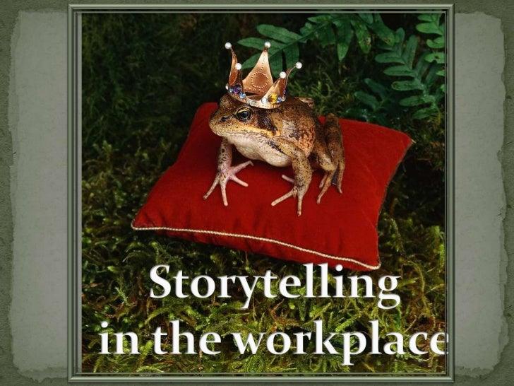 Storytelling at work