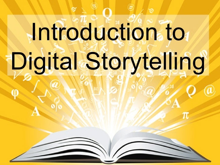 Digital storytelling version 2
