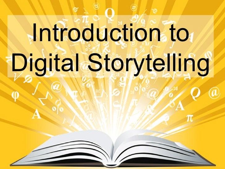 Digital storytelling version 2