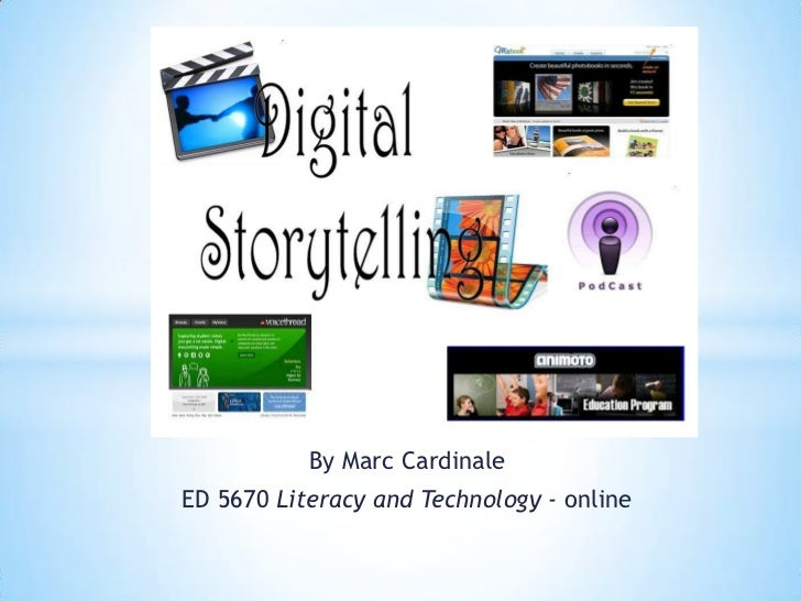 By Marc Cardinale<br />ED 5670 Literacy and Technology -online<br />