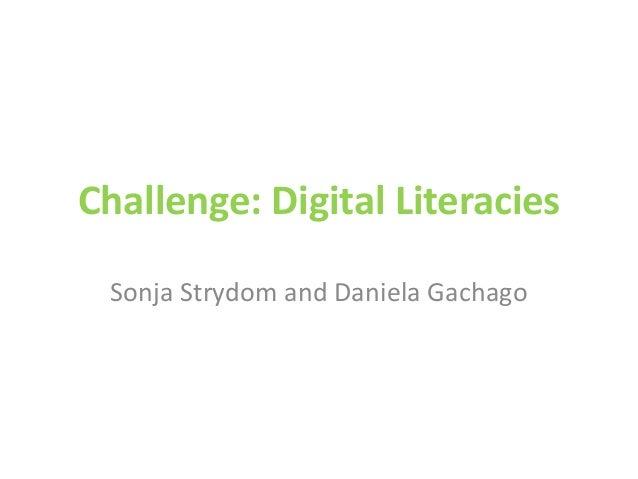 Digital storytelling at CPUT & eportfolios at SU
