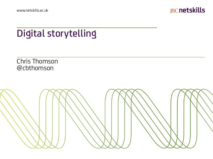 Digital storytelling (cambridge)