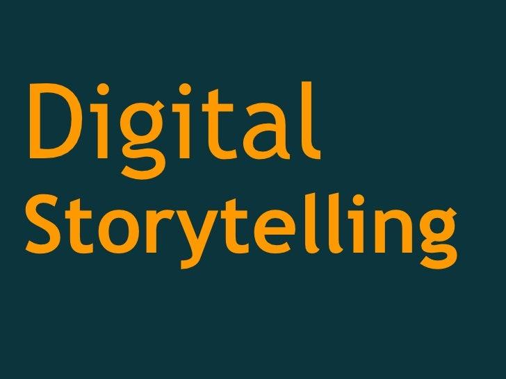 Digital Storytelling Workshop