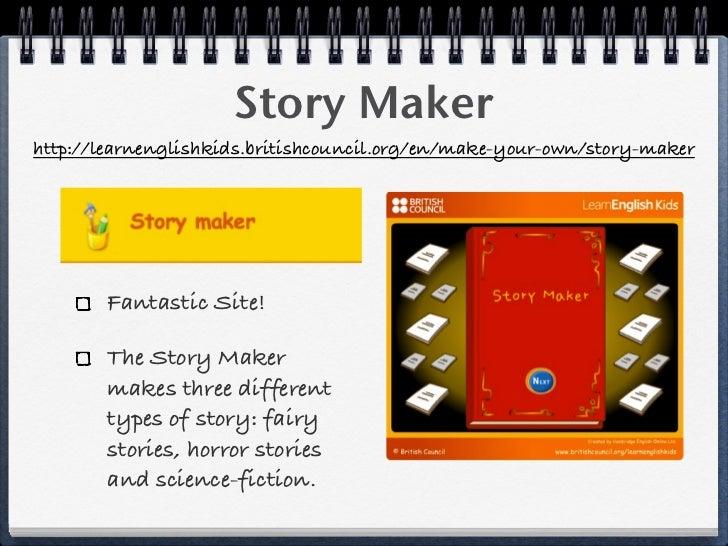 Online story creator