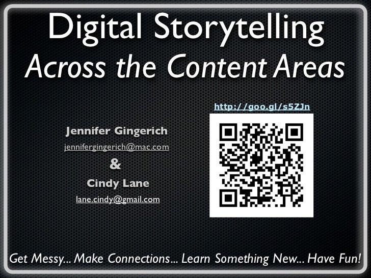 Digital Storytelling ITSC