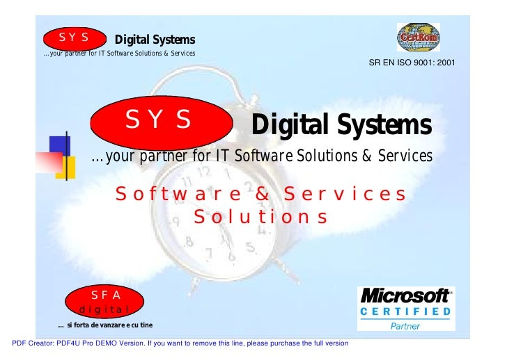 SYS               Digital Systems          …your partner for IT Software Solutions & Services                             ...