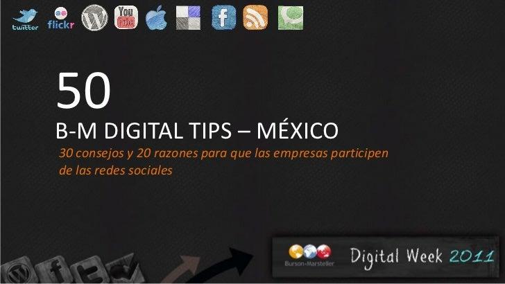 Digital tips mexico_burson-marsteller