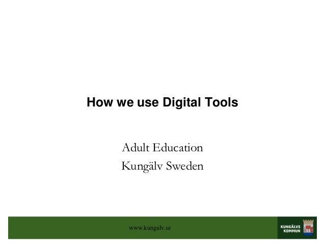 Kungälv Digital tools, spain ws