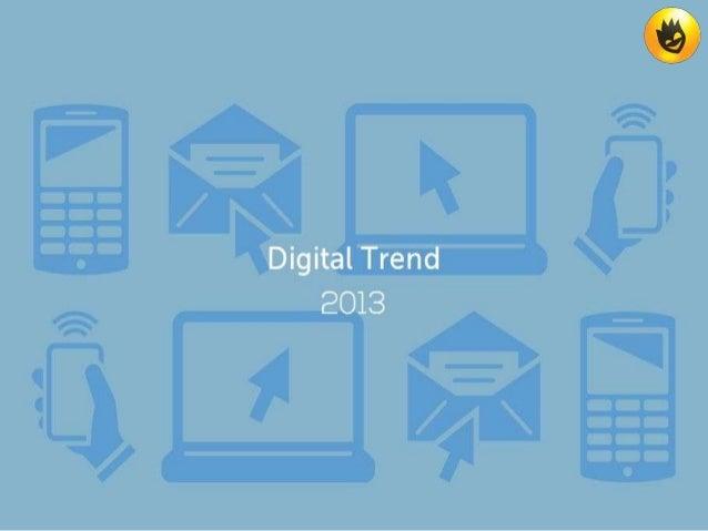 Digital trend 2013 by SAM Design