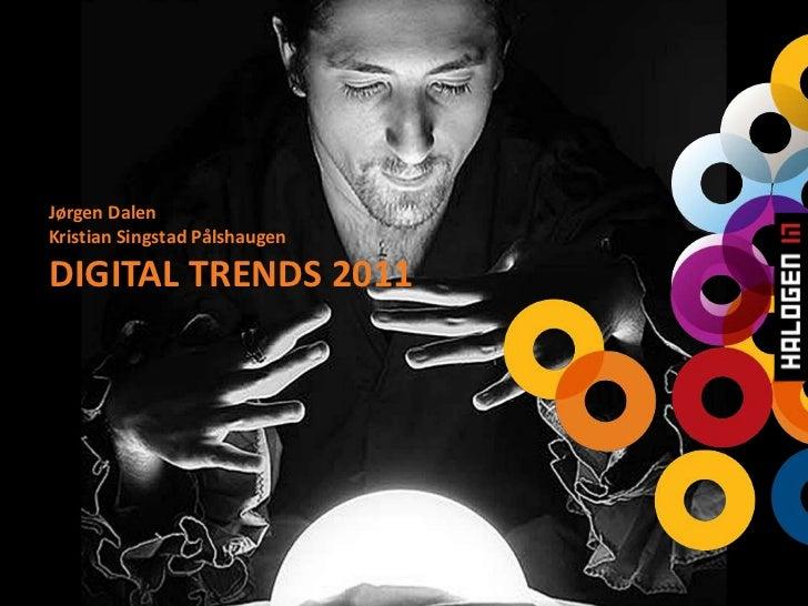 Digital trends 2011