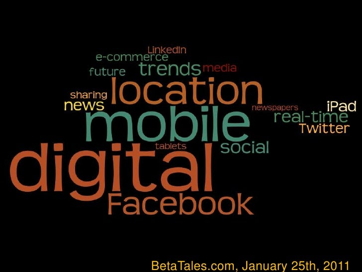 Five digital trends shaping the media business in 2011