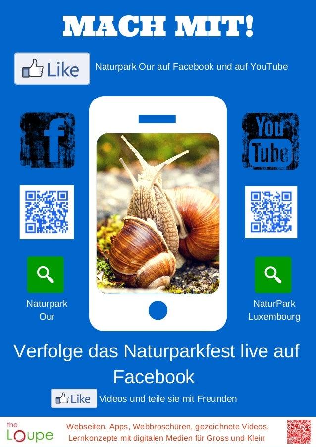 Webseiten, Apps, Webbroschüren, gezeichnete Videos, Lernkonzepte mit digitalen Medien für Gross und Klein MACH MIT! Naturp...