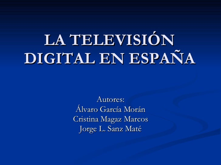 Digital Tv Spain