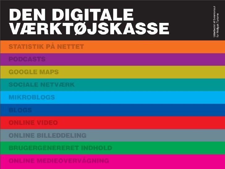 Den Digitale Værktøjskasse til turistindustrien