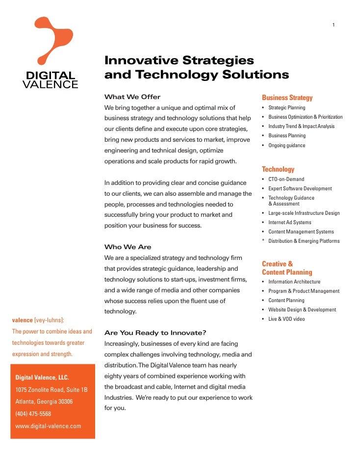 Digital Valence Info