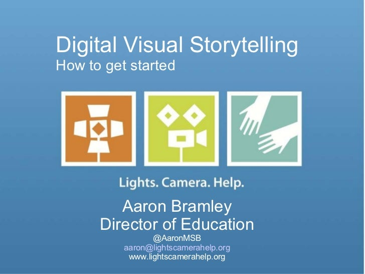 Digital Visual Storytelling