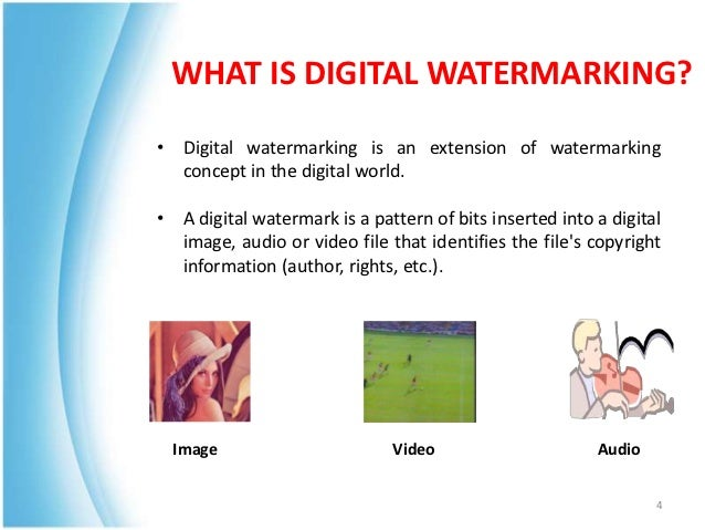 latest research papers digital watermarking