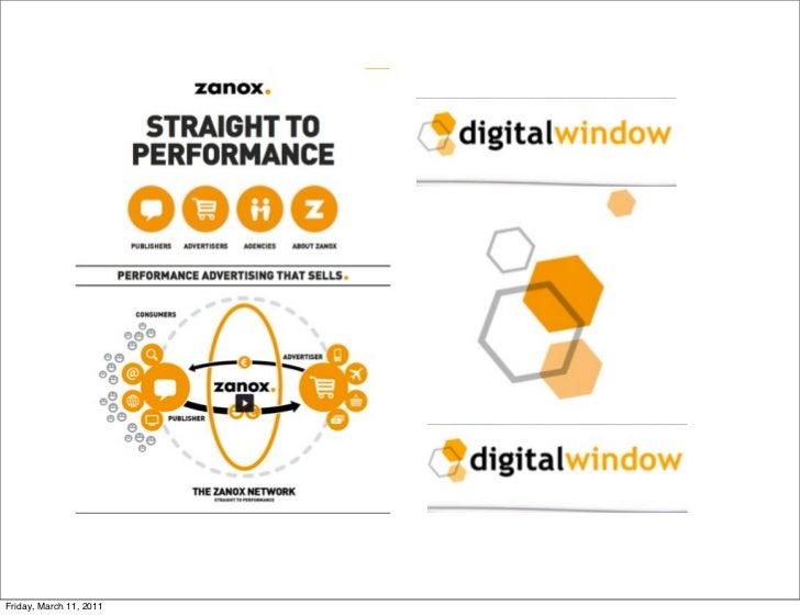 Digitalwindow keynote london #inspire2011