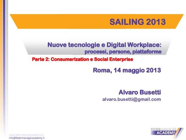 Digital workplace: parte 2°