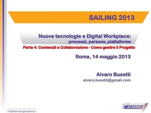 Digital workplace: parte 4°
