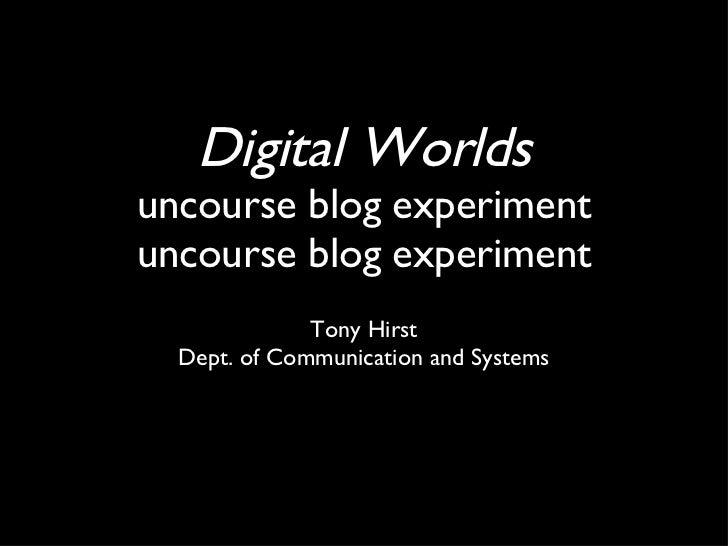 Digitalworlds