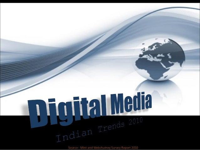 Digita Media Trends India 2010