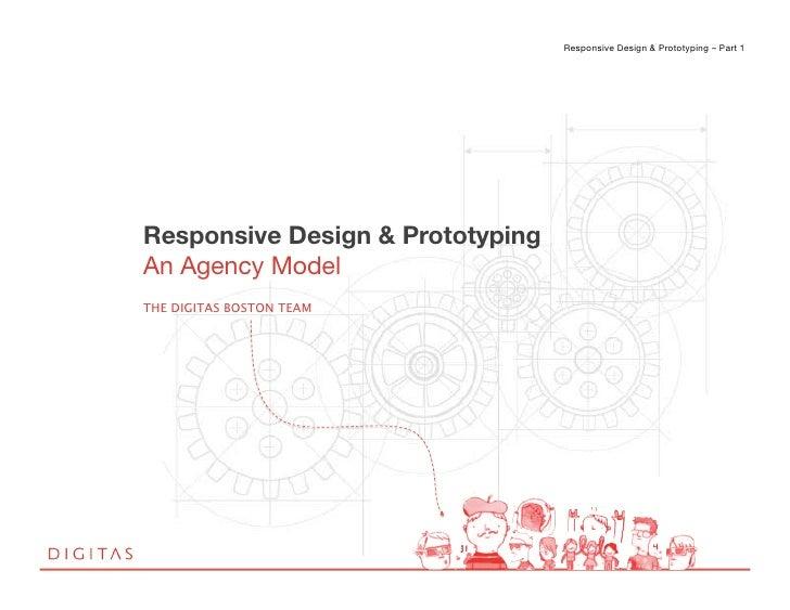 Responsive Design & Prototyping – Part 1 !                                                                           !Resp...
